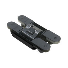 Türgriff 4080 Nero Adjustable Black Concealed Hinge