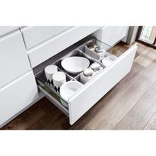 Inline Kitchen, Alpine White Matt