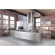 Inox Classic Kitchen, Brushed Steel