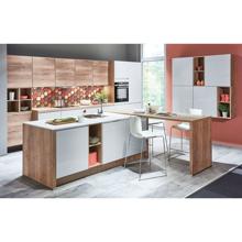 Lux Kitchen, Satin Grey High Gloss