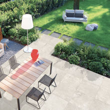 Italian Outdoor Porcelain Paver, Stone Beige