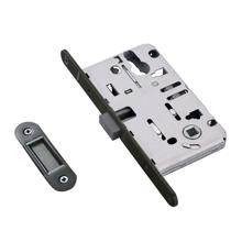 Gun Black Magnetic Mortise Lock For Room Function
