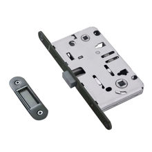 ORB Plated Magnetic Mortise Lock For WC Function