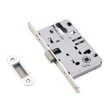 Satin Nickel Magnetic Mortise Lock For Room Function