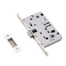 Satin Nickel Magnetic Mortise Lock For WC Function