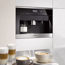 Miele CVA6405 Coffee System, Clean Touch Steel