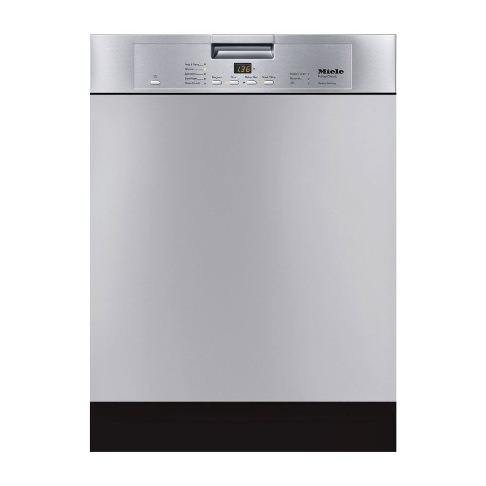 Miele G4228SCU Futura Classic Dishwasher, Clean Touch Steel