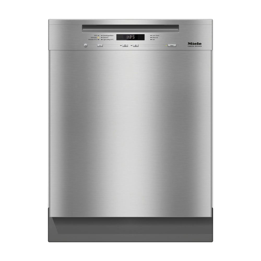 Miele G6625SCU Futura Crystal Dishwasher, Clean Touch Steel