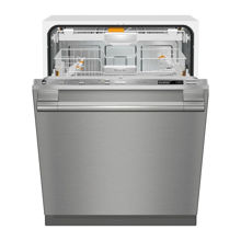 Miele G6665SCViSF Futura Crystal Dishwasher, Clean Touch Steel