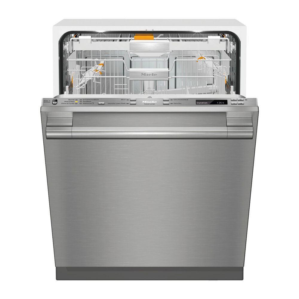 Miele G6875SCViSF Futura Lumen Dishwasher, Clean Touch Steel