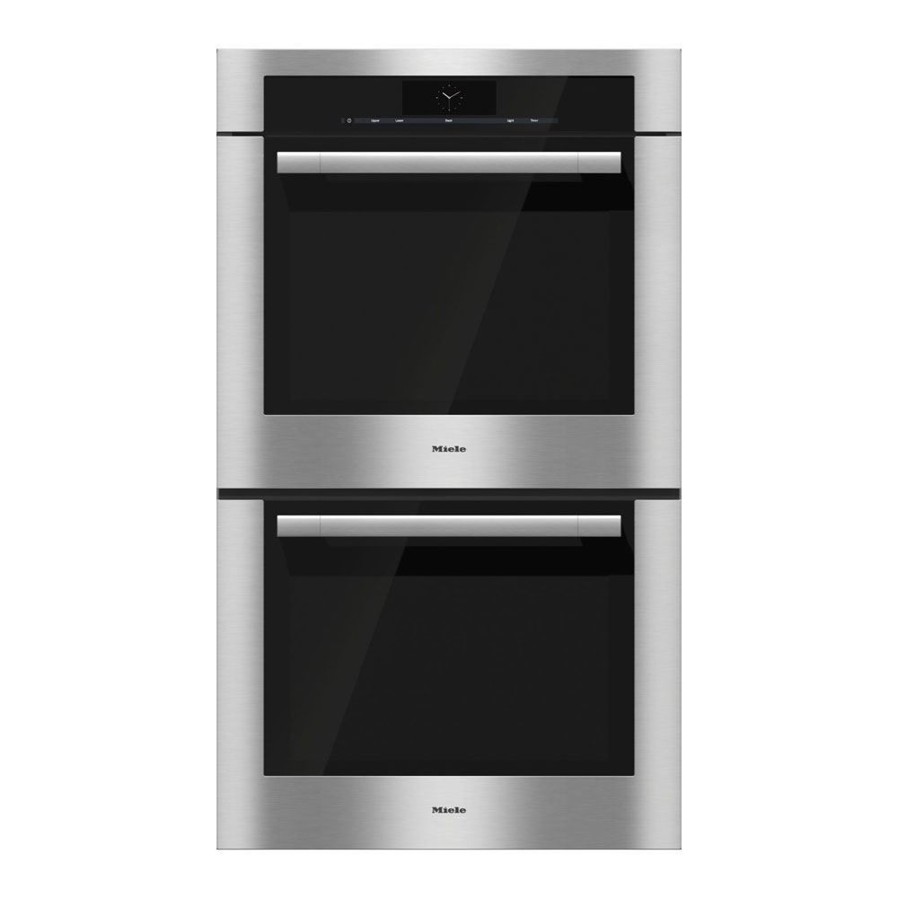 Miele H6780BP2 Double Convection Oven, Clean Touch Steel