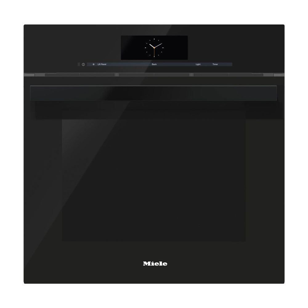 Miele DGC6865XXL Combi-Steam Oven, Obsidian Black, Plumbed