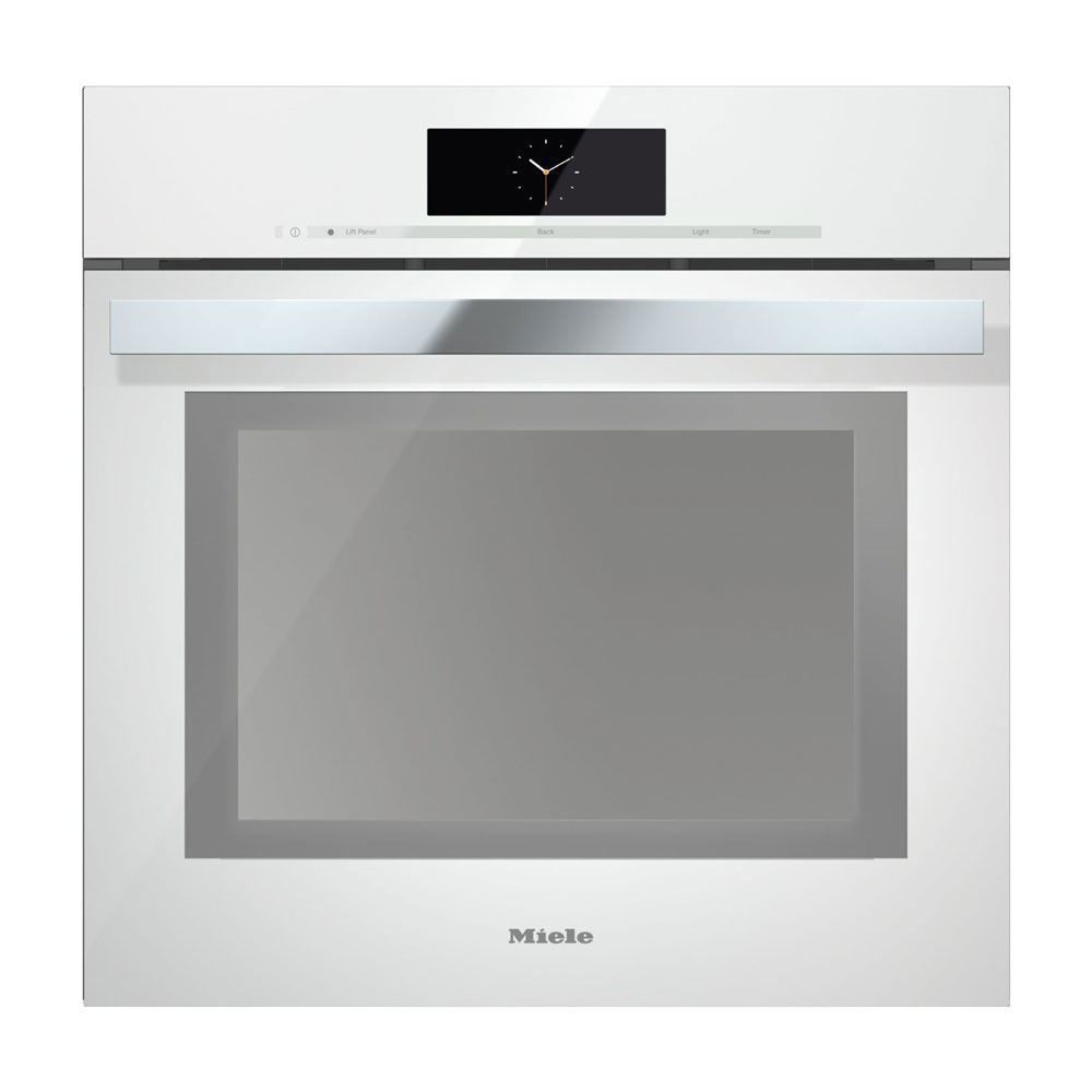 Miele DGC6865XXL Combi-Steam Oven, Brilliant White, Plumbed