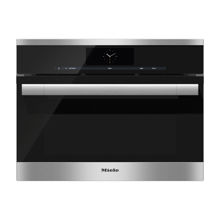 Miele DGC6705XL-1 Combi-Steam Oven, Clean Touch Steel, Plumbed