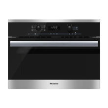 Miele M6260TC Microwave Oven, Clean Touch Steel
