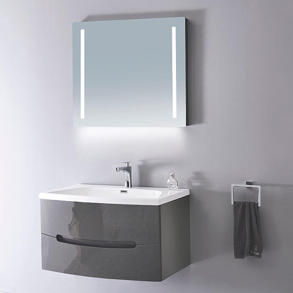 "Plywood Wall Cabinet Plan: 48"" Modern Bathroom Vanity Solid Plywood Wall Mounted"