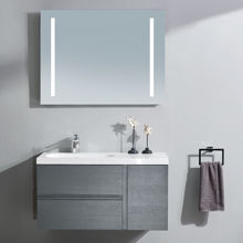 "Mistra 60"" Frameless LED Illuminated Bathroom Mirror"