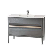 "Amadeus Modern 40"" Single Bathroom Vanity Set, Gray"