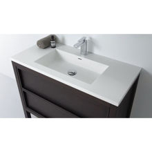 "Modern Bathroom Single Vanity Cabinet, Dexter 32"""