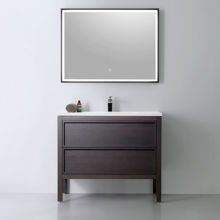 Modern Bathroom Single Vanity Cabinet, Dexter 48""
