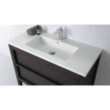 """Modern Bathroom Single Vanity Sink, Dexter 48"""""""