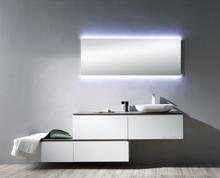 "Bianca Matt White 59"" Modern Bathroom Vanity and Sink"