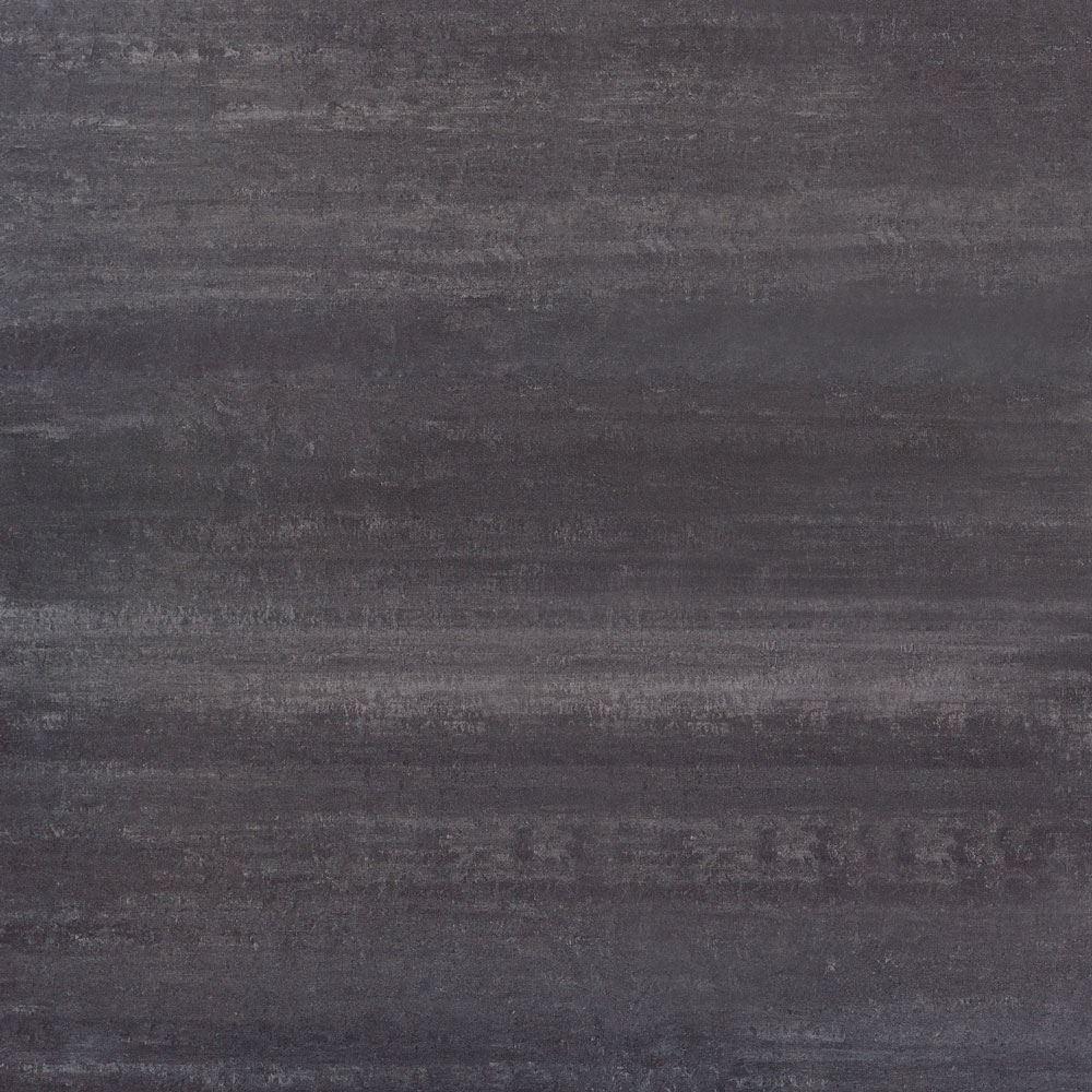 "Granity Air, 12"" x 12"" Bush-Hammered Coal Porcelain Tile"
