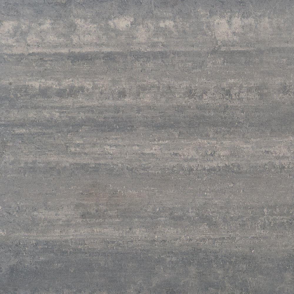 """Granity Air, 4"""" x 4"""" Bush-Hammered Silver Porcelain Tile"""