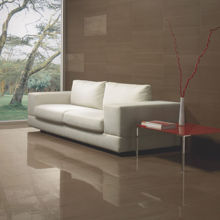 "Granity Air, 4"" x 4"" Matt Sepia Porcelain Tile"