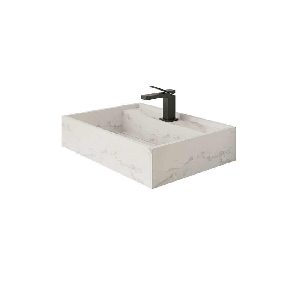 "Larsen Super Blanco Gris 24"" Naturally Designed Single Sink"