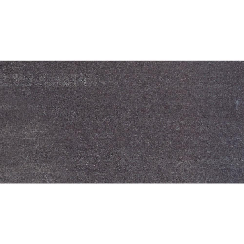 "Granity Air, 12"" x 24"" Bush-Hammered Coal Porcelain Tile"