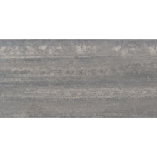 "Granity Air, 12"" x 24"" Bush-Hammered Silver Porcelain Tile"