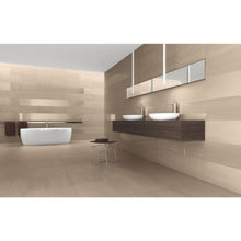 "Granity Air, 12"" x 24"" Polished Beige Porcelain Tile"