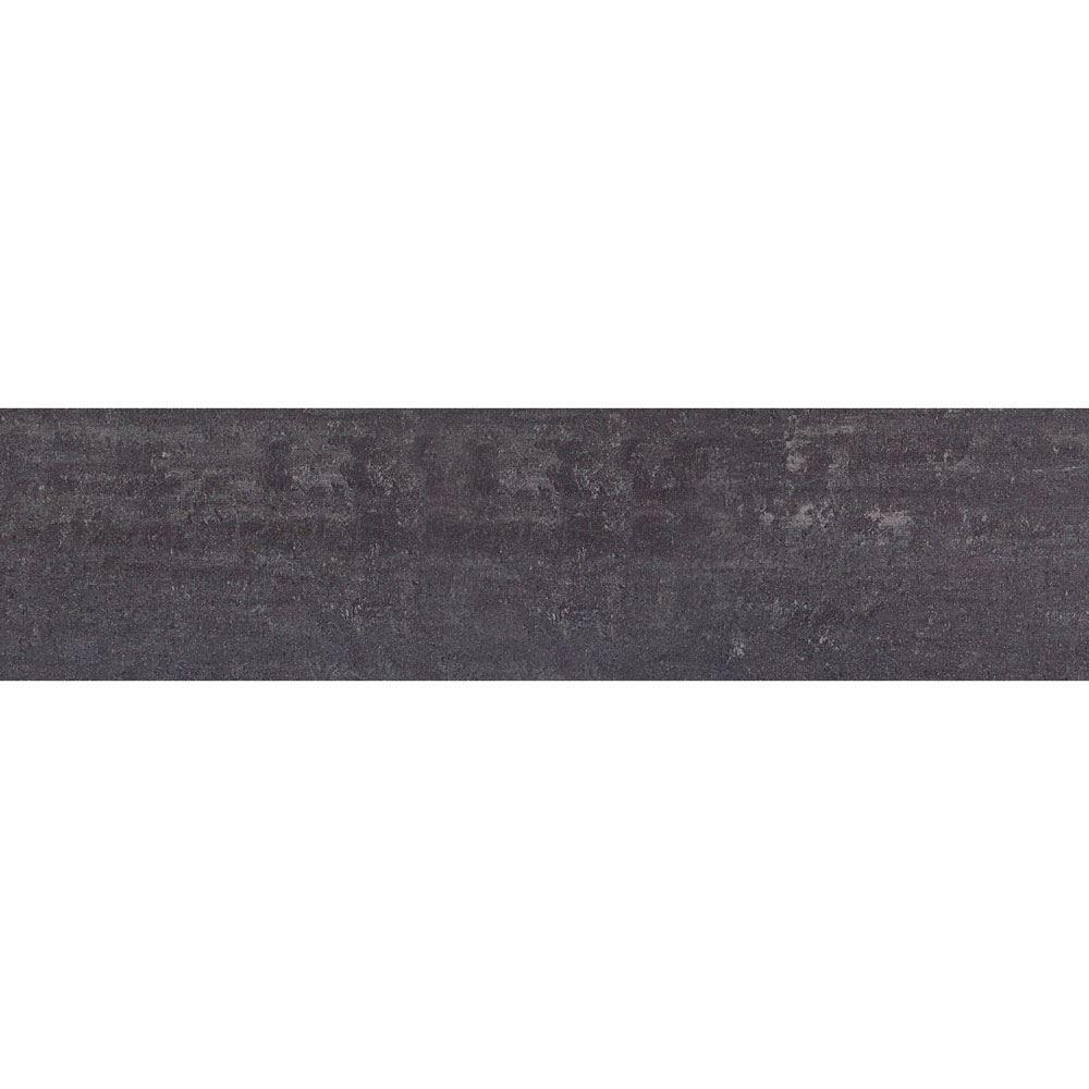 "Granity Air, 6"" x 24"" Polished Coal Porcelain Tile"