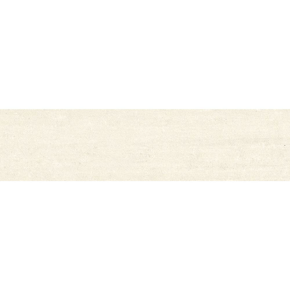 "Granity Air, 6"" x 24"" Bush-Hammered White Porcelain Tile"
