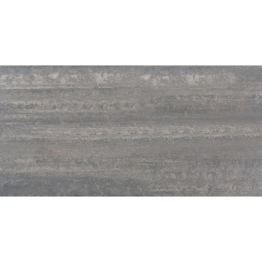 """Granity Air, 24"""" x 47"""" Bush-Hammered Silver Porcelain Tile"""