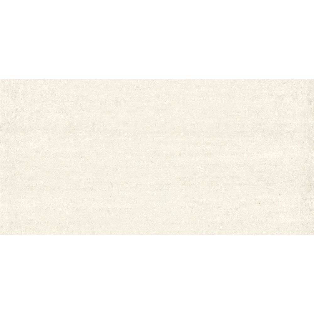 "Granity Air, 24"" x 47"" Bush-Hammered White Porcelain Tile"
