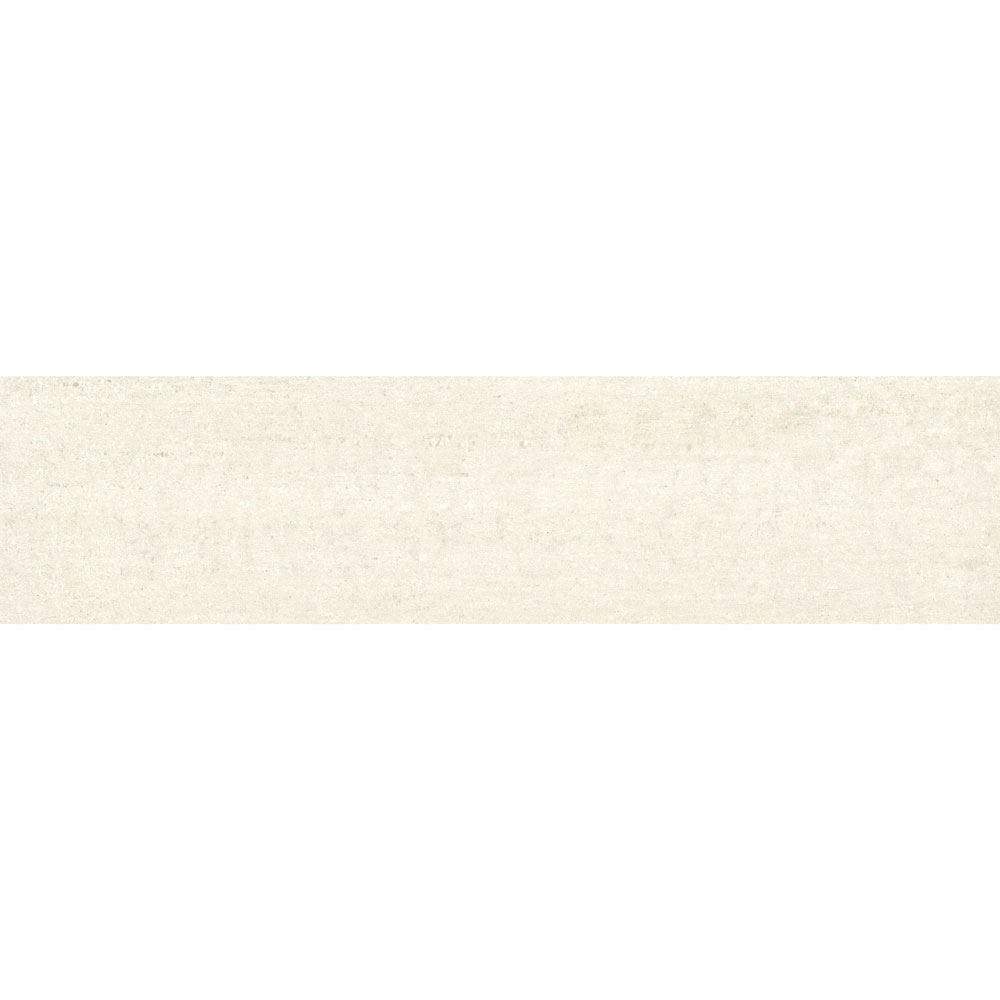 """Granity Air, 12"""" x 47"""" Bush-Hammered White Porcelain Tile"""