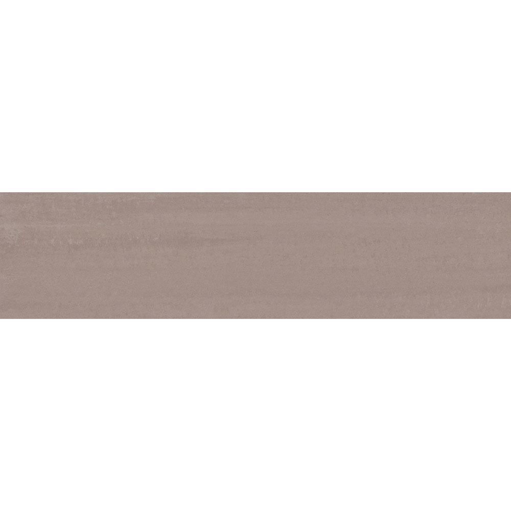 "Granity Air, 12"" x 47"" Bush-Hammered Sepia Porcelain Tile"