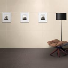 "Premium Porcelain Tile, 12"" x 24"" Solid Matt Beige"