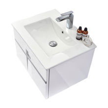 "40"" Modern Single Bathroom Vanity Sink Mino Glossy White"