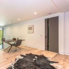 """Elephant Gray Wooden Interior Door, 30"""" x 80"""""""