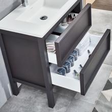 """Modern Bathroom Single Vanity, Dexter 48"""""""