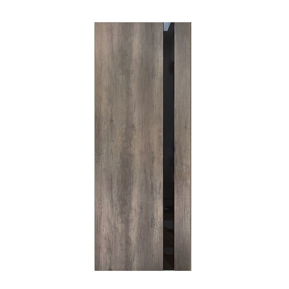 "Fossil Gray Modern Interior Door, 30"" x 80"""