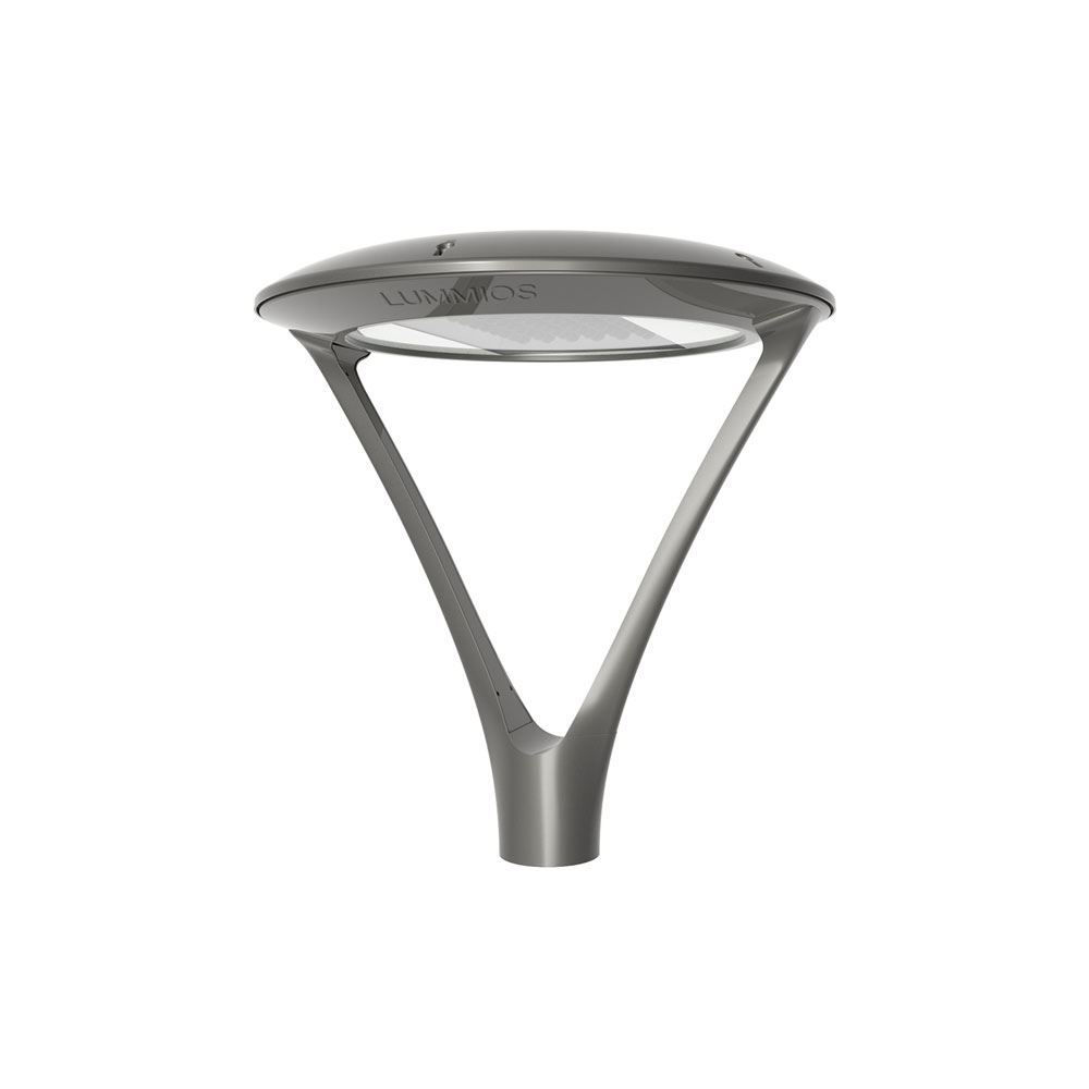 Aluminium Silver Post Top Light , 120W