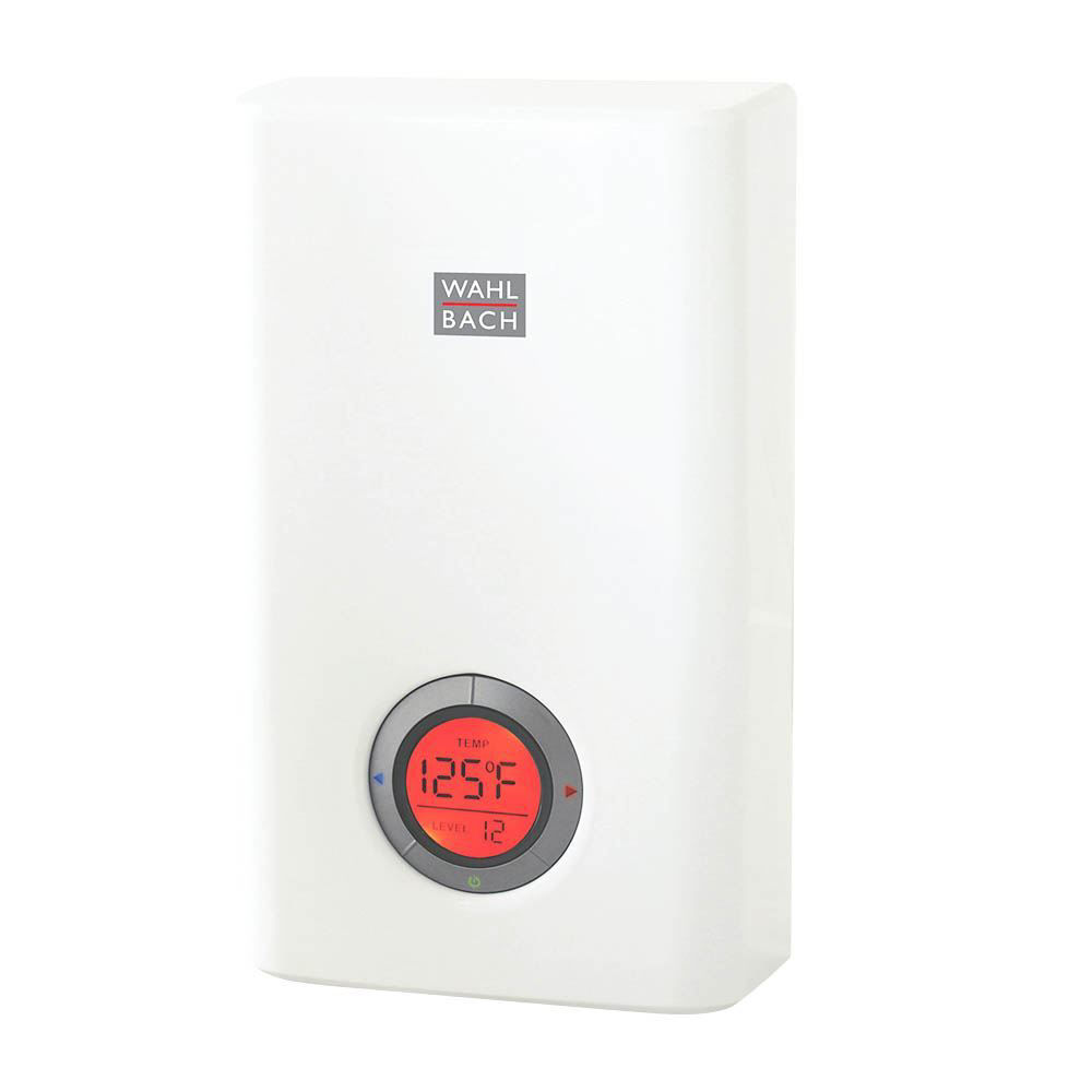 Wahlbach Compact Tankless Water Heater, 12kW