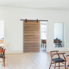 "Wooden Sliding Barn Door, 48"" x 84"""