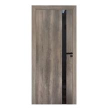 "Fossil Gray Modern Interior Door, 28"" x 80"""