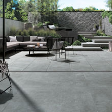 "Modern Italian Outdoor 1 1/4"" Porcelain Tile 24"" x 24"", Ideal Structured"