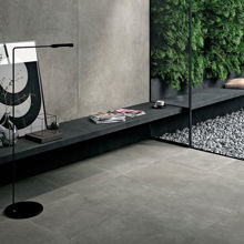 "Modern Italian Porcelain Tile 63"" x 63"", Ideal Spazzolata"